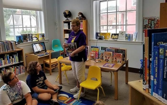 Support of the Philippi Public Library Receives Additional Boost